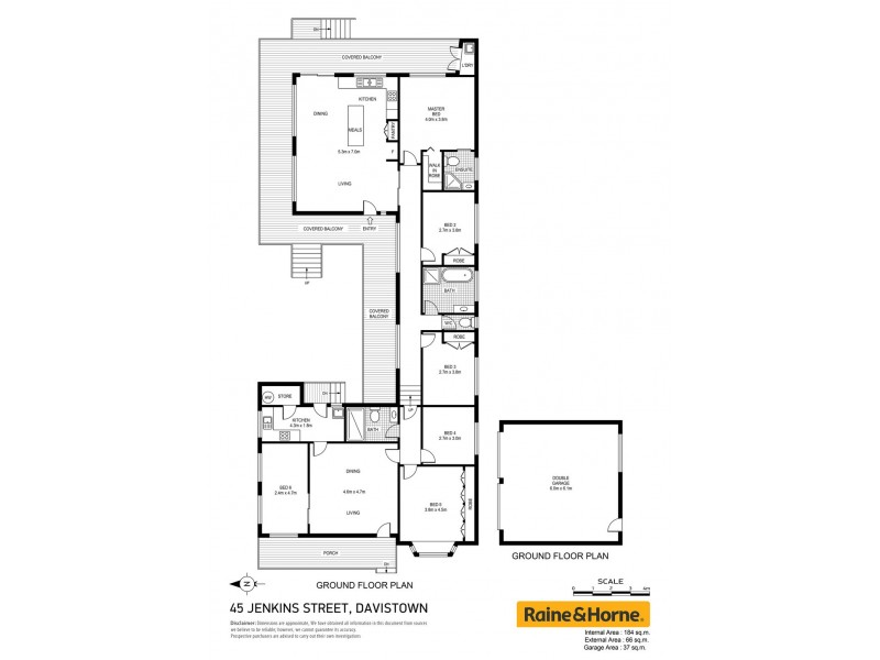 45 Jenkins Street, Davistown NSW 2251 Floorplan