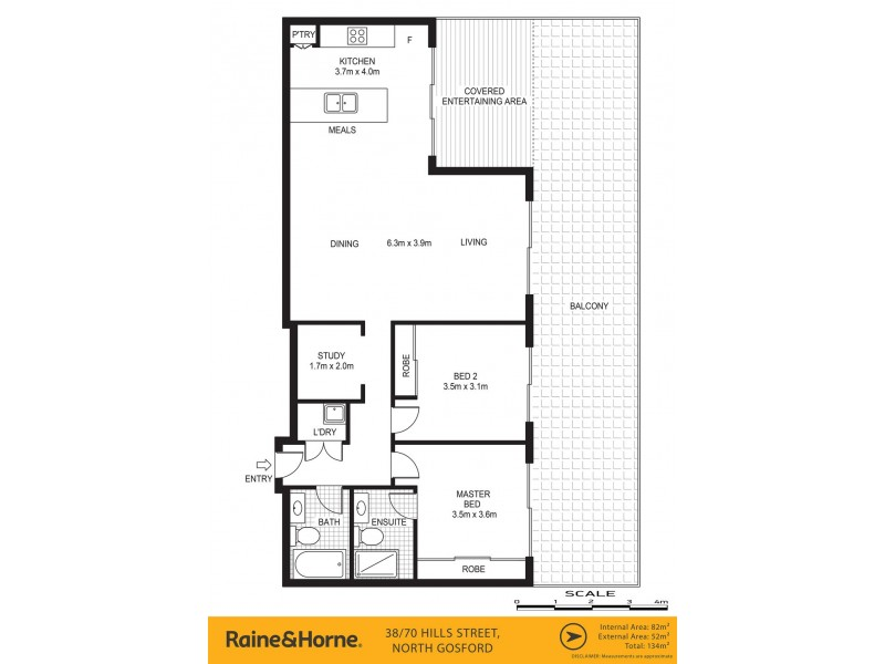 38/66-70 Hills Street, North Gosford NSW 2250 Floorplan