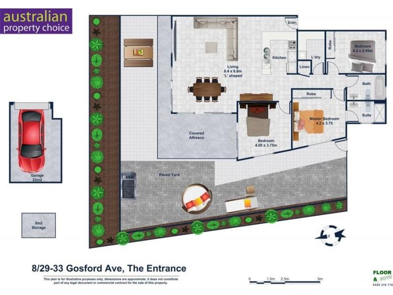 8/29-33 Gosford Ave, The Entrance NSW 2261 Floorplan