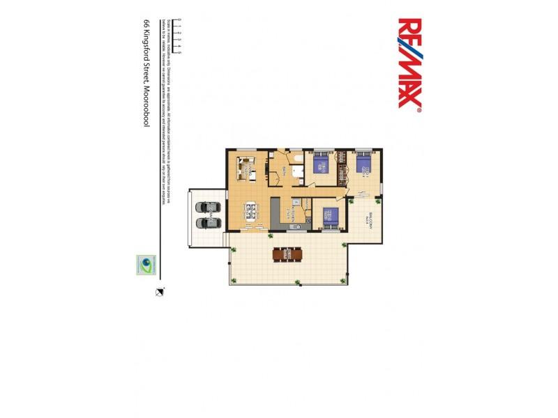 66 Kingsford Street, Mooroobool QLD 4870 Floorplan