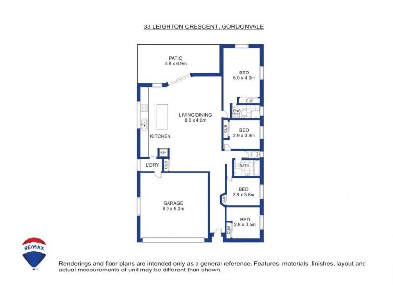 33 Leighton Close, Gordonvale QLD 4865 Floorplan