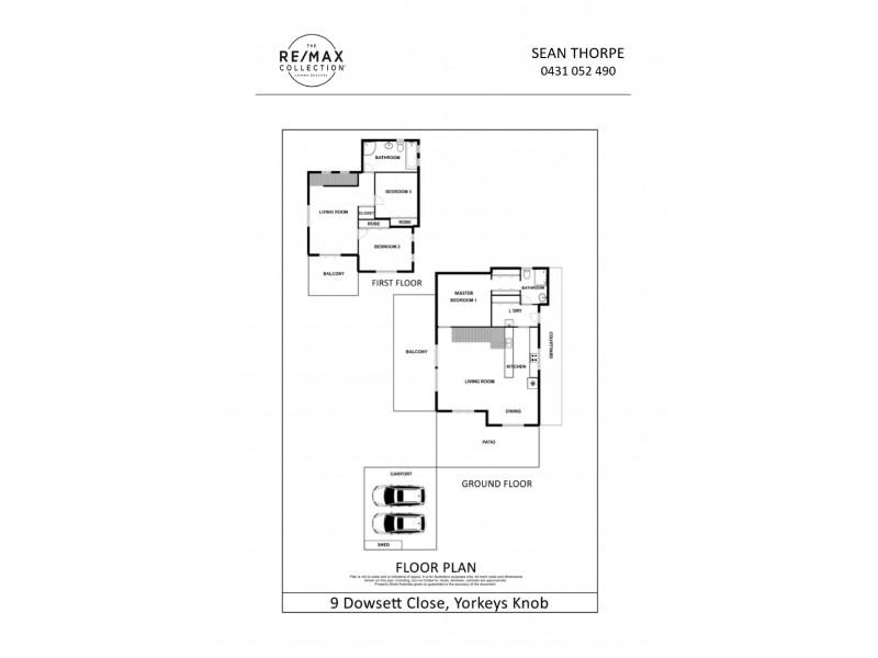 9 Dowsett Close, Yorkeys Knob QLD 4878 Floorplan