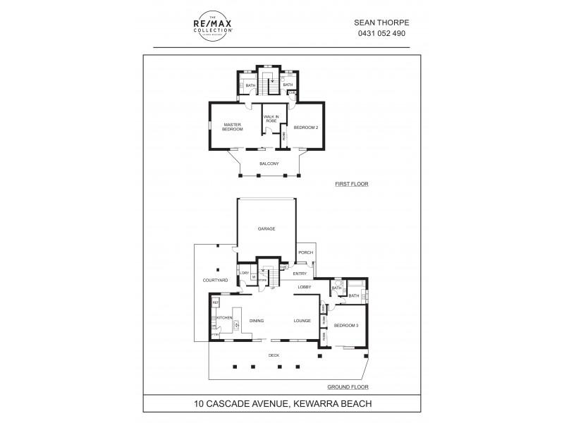10 Cascade Avenue, Kewarra Beach QLD 4879 Floorplan