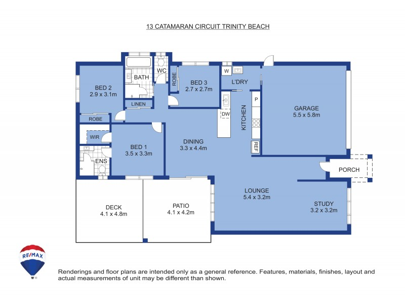 13 Catamaran Street, Trinity Beach QLD 4879 Floorplan