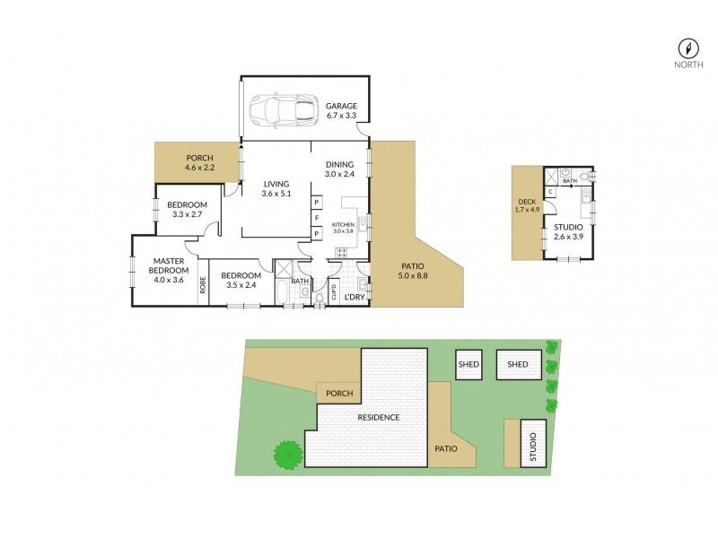 40 Balmoral Drive, Gorokan NSW 2263 Floorplan