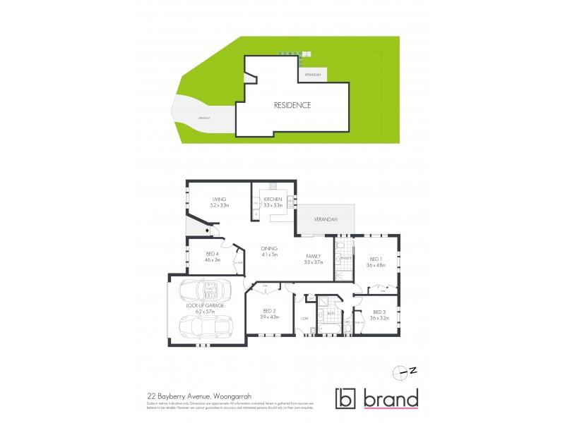 22 Bayberry Avenue, Woongarrah NSW 2259 Floorplan