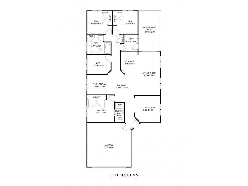 53 White Swan Avenue, Blue Haven NSW 2262 Floorplan
