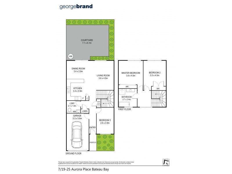 7/19-25 Aurora Place, Bateau Bay NSW 2261 Floorplan