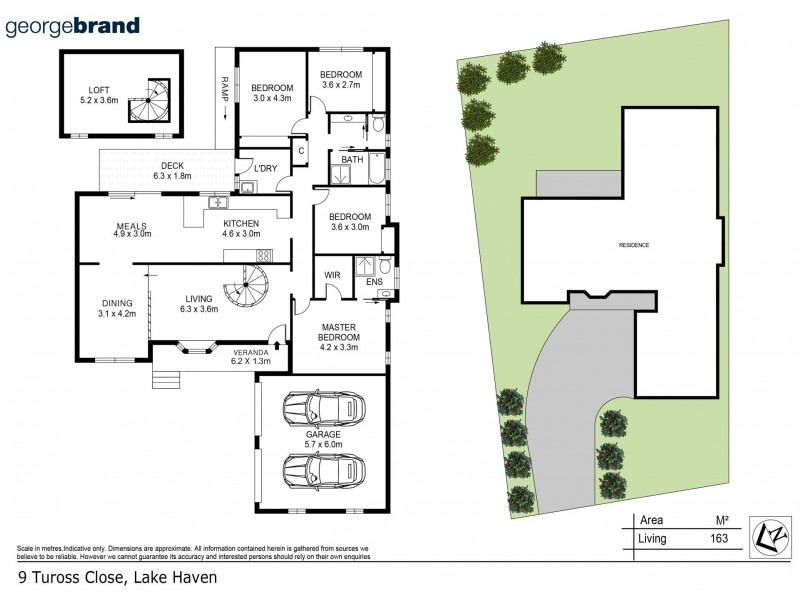 9 Tuross Close, Lake Haven NSW 2263 Floorplan