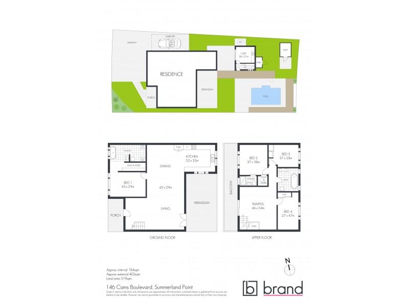 146 Cams Boulevard, Summerland Point NSW 2259 Floorplan