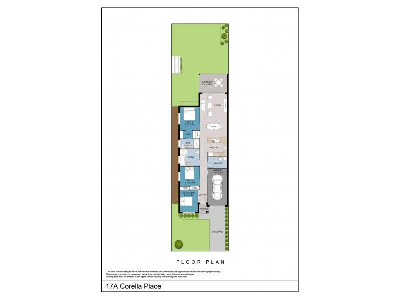 17A Corella Crescent, Sanctuary Point NSW 2540 Floorplan