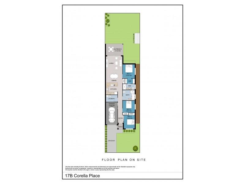 17B Corella Crescent, Sanctuary Point NSW 2540 Floorplan