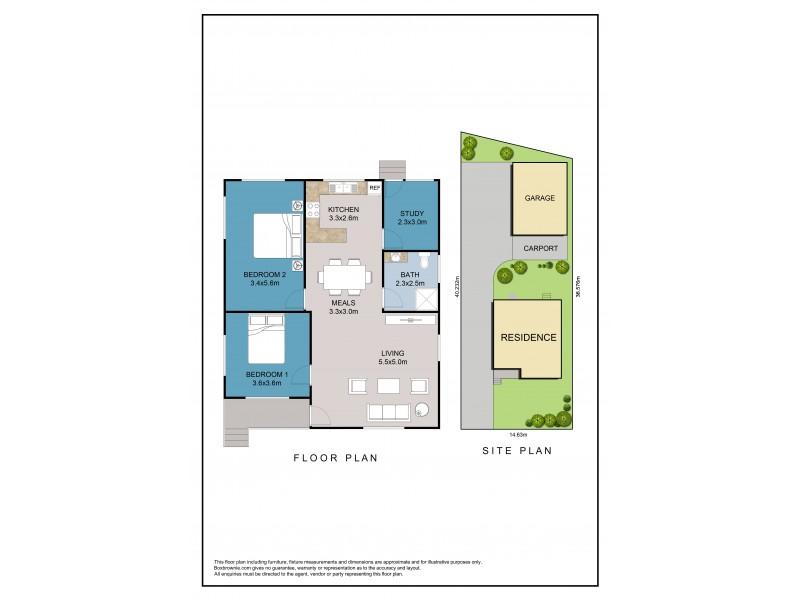 6 Kingsford-Smith Crescent, Sanctuary Point NSW 2540 Floorplan