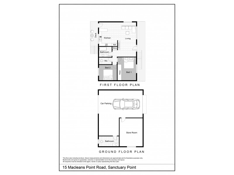 15 Macleans Point Road, Sanctuary Point NSW 2540 Floorplan