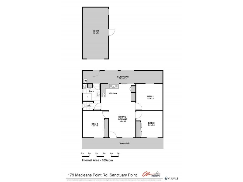 179 Macleans Point Road, Sanctuary Point NSW 2540 Floorplan