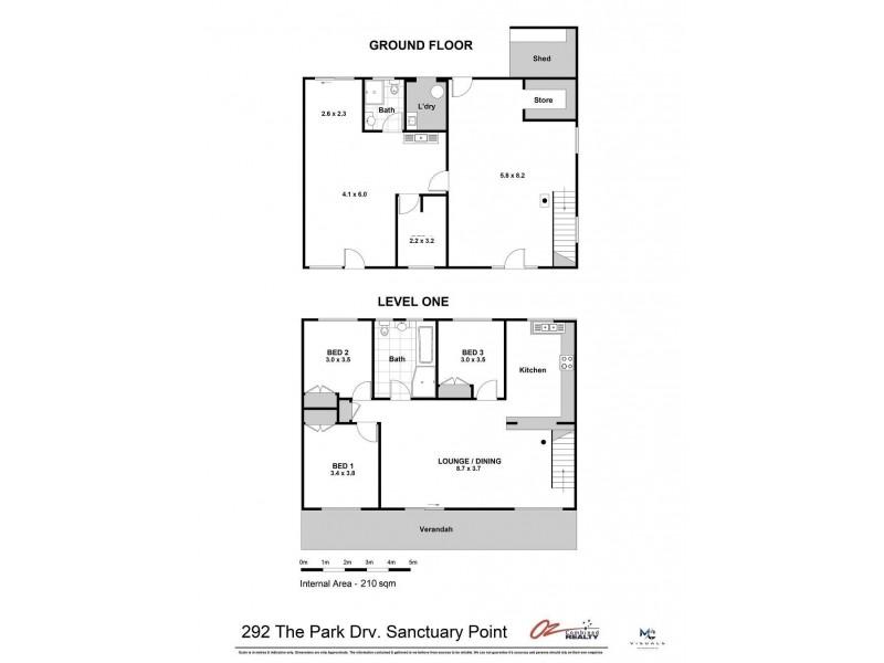 292  The Park Drive, Sanctuary Point NSW 2540 Floorplan