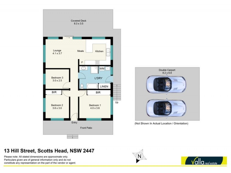 13 Hill Street, Scotts Head NSW 2447 Floorplan