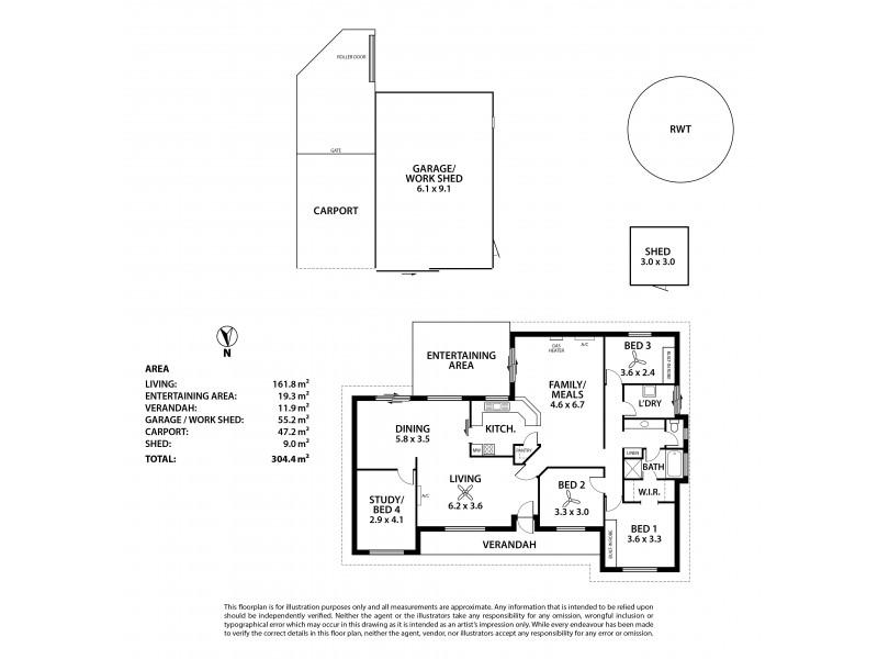 11 Marriott Street, Macclesfield SA 5153 Floorplan