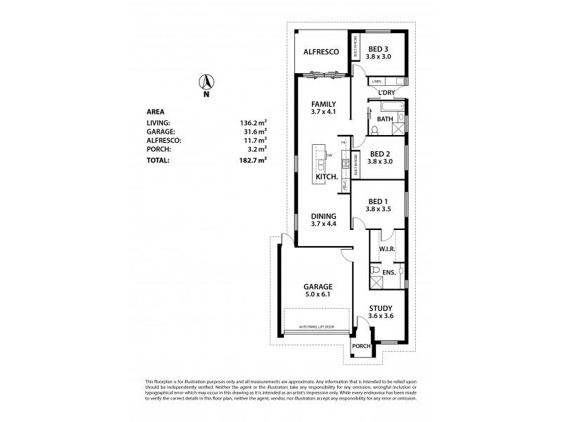 35 Cotterdale Avenue, Mount Barker SA 5251 Floorplan