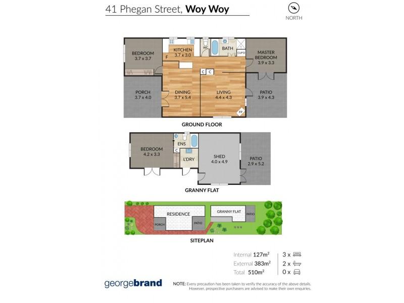 41 Phegan Street, Woy Woy NSW 2256 Floorplan