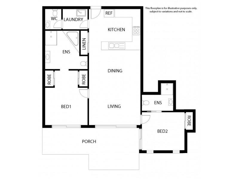 224/10 Okinja Road, Alexandra Headland QLD 4572 Floorplan