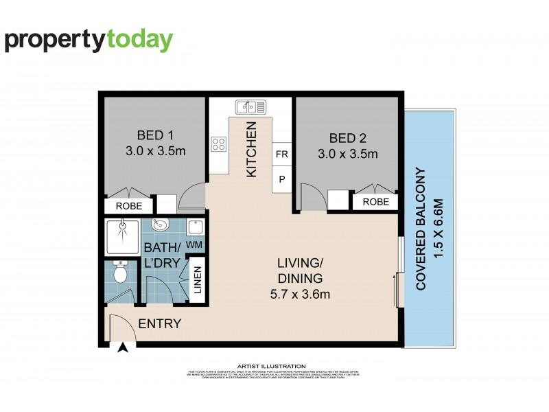 4/28 Camfield Street, Alexandra Headland QLD 4572 Floorplan