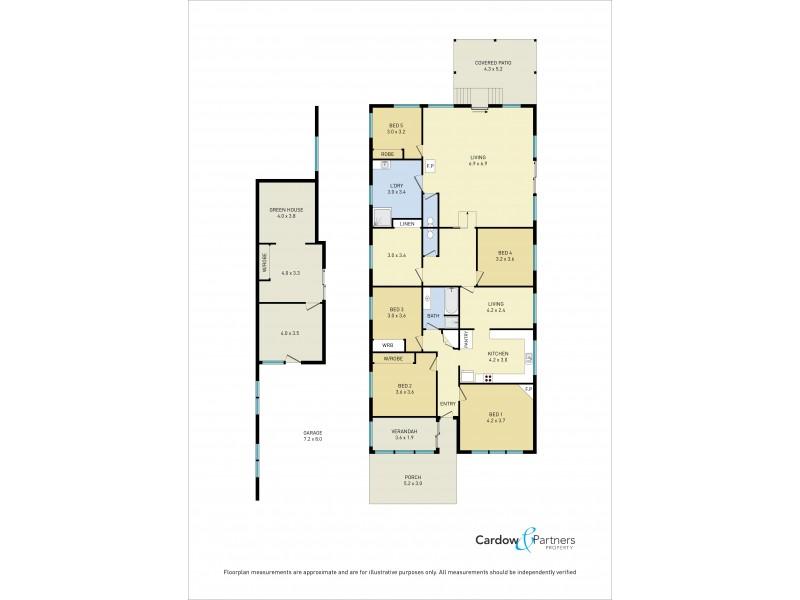 18 Vine Street, Dorrigo NSW 2453 Floorplan