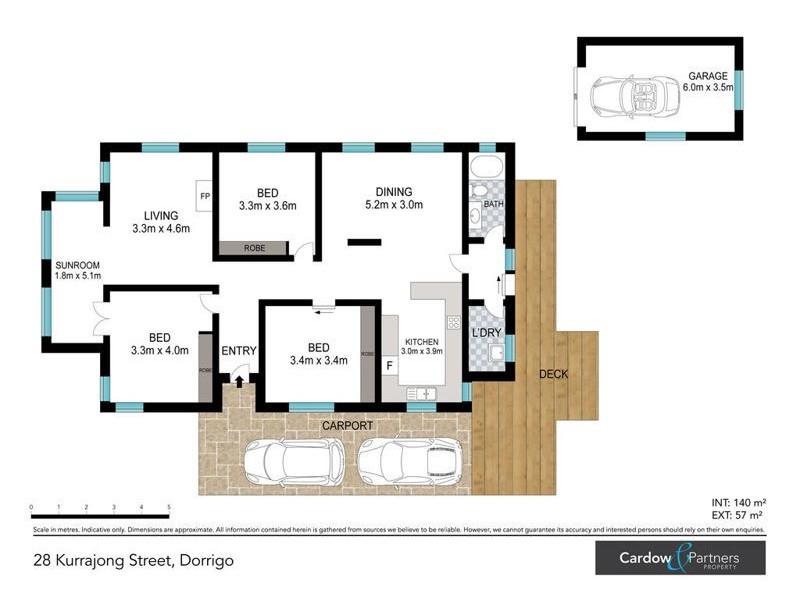 28 Kurrajong Street, Dorrigo NSW 2453 Floorplan