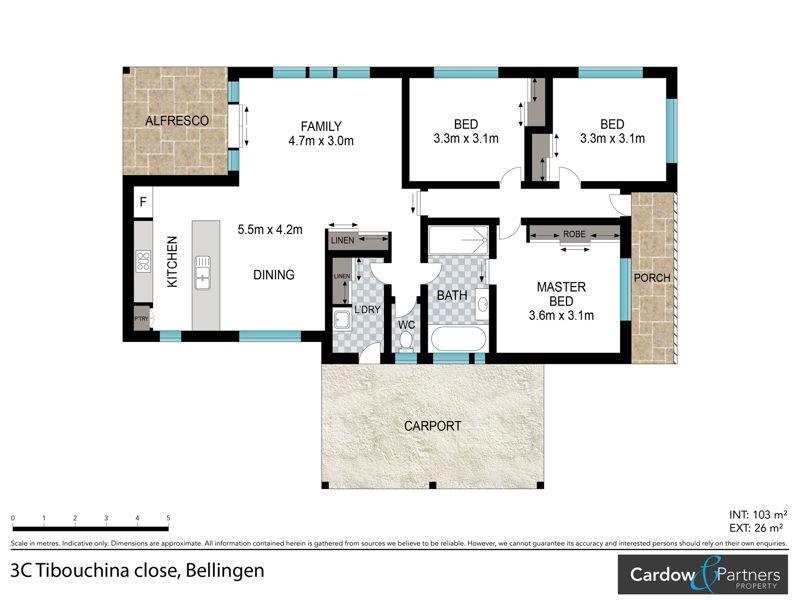 3C Tibouchina Close, Bellingen NSW 2454 Floorplan