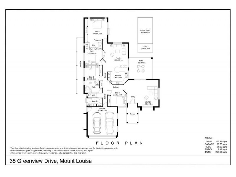 35 Greenview Drive, Mount Louisa QLD 4814 Floorplan