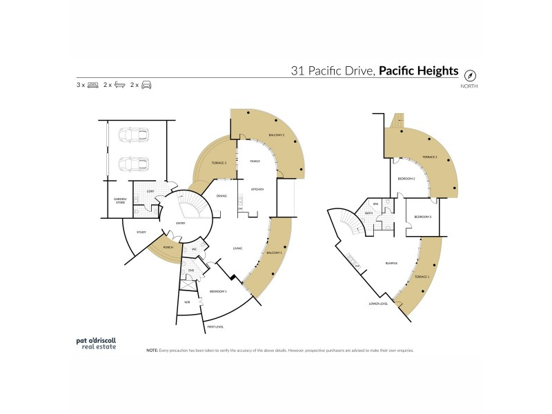31 Pacific Drive, Pacific Heights QLD 4703 Floorplan