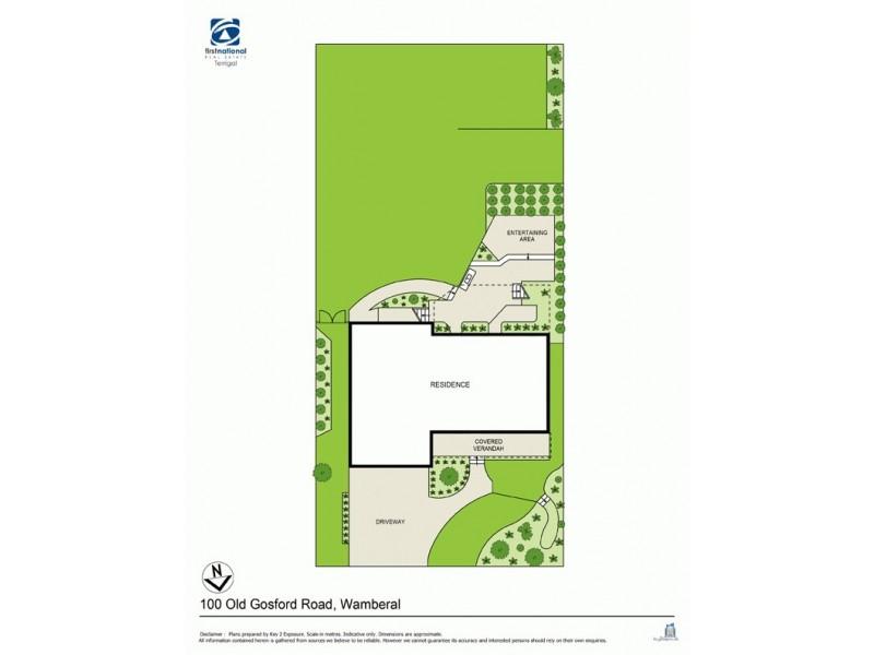 100 Old Gosford Road, Wamberal NSW 2260 Floorplan