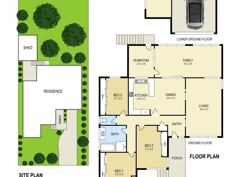 98 Northcott Drive, Adamstown Heights NSW 2289 Floorplan