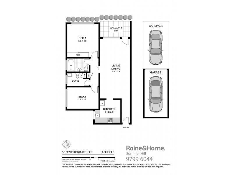 1/132 Victoria Street, Ashfield NSW 2131 Floorplan