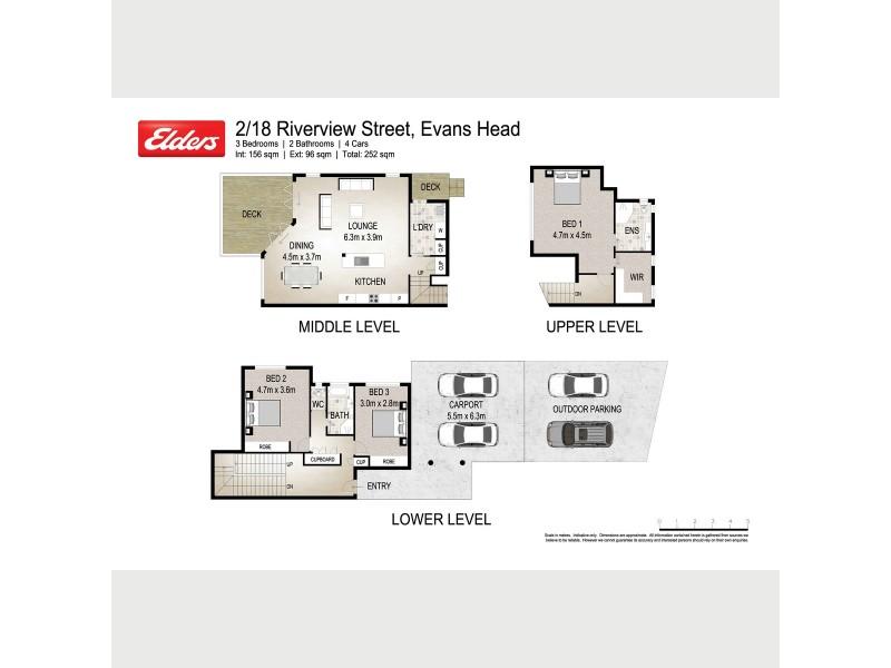 2/18 Riverview Street, Evans Head NSW 2473 Floorplan