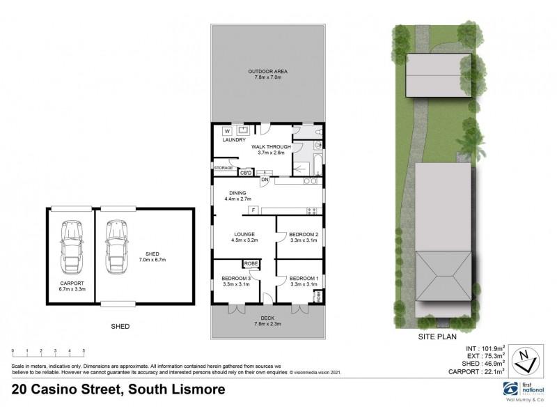 20 Casino Street, South Lismore NSW 2480 Floorplan