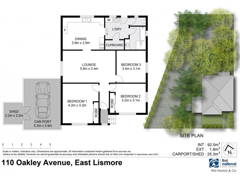 110 Oakley Avenue, East Lismore NSW 2480 Floorplan