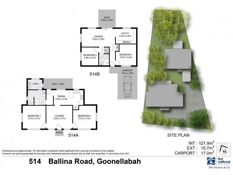 514 Ballina Road, Goonellabah NSW 2480 Floorplan