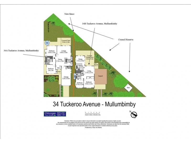 34B Tuckeroo Avenue, Mullumbimby NSW 2482 Floorplan