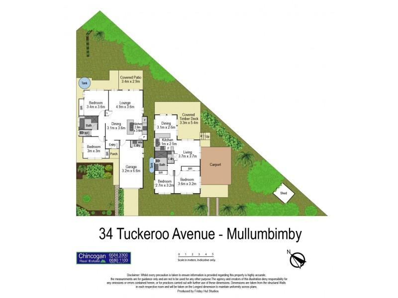 34A Tuckeroo Avenue, Mullumbimby NSW 2482 Floorplan