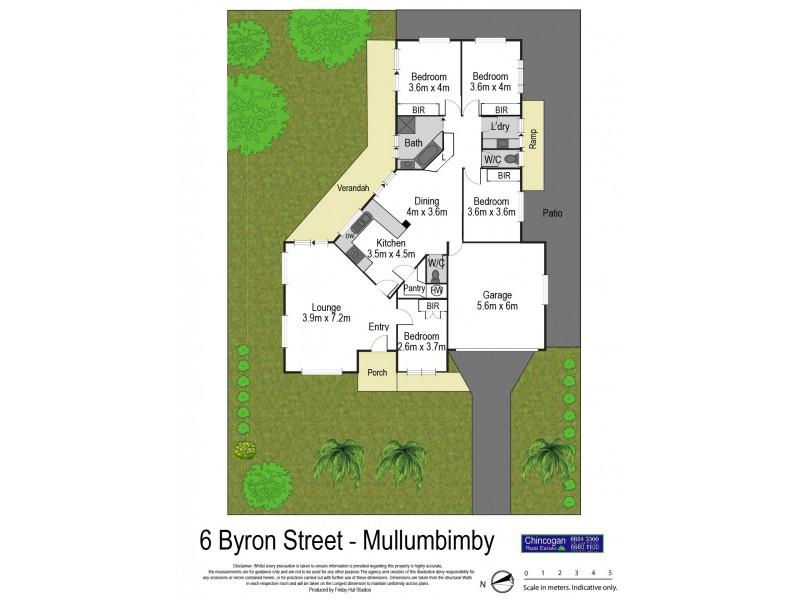 6 Byron Street, Mullumbimby NSW 2482 Floorplan