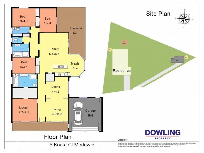 5 KOALA CLOSE, Medowie NSW 2318 Floorplan
