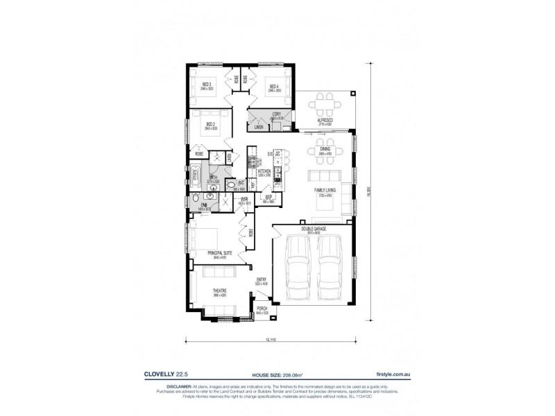 49 Sandpiper Circuit, Aberglasslyn NSW 2320 Floorplan