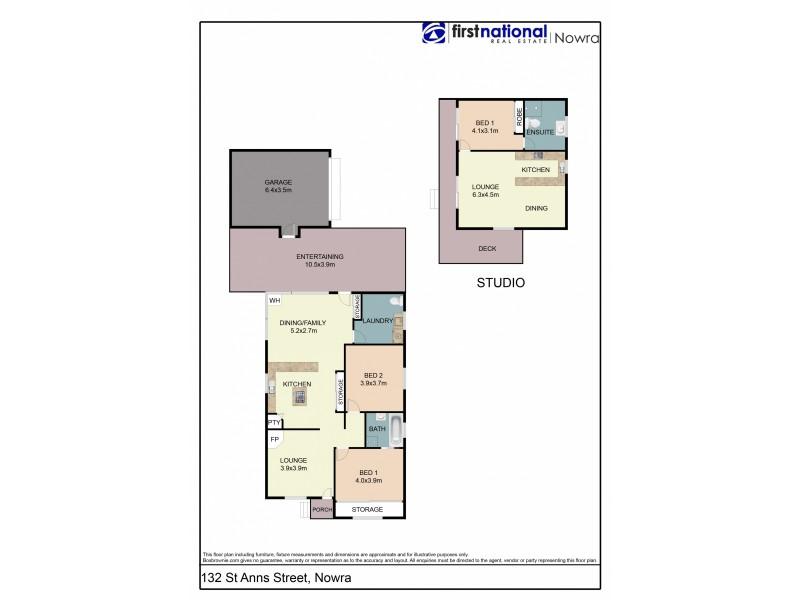 132 St Anns Street, Nowra NSW 2541 Floorplan