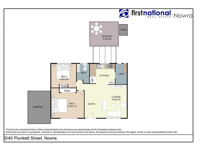 5/40 Plunkett Street, Nowra NSW 2541 Floorplan
