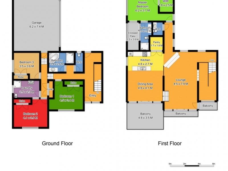 68 Orama Crescent, Orient Point NSW 2540 Floorplan