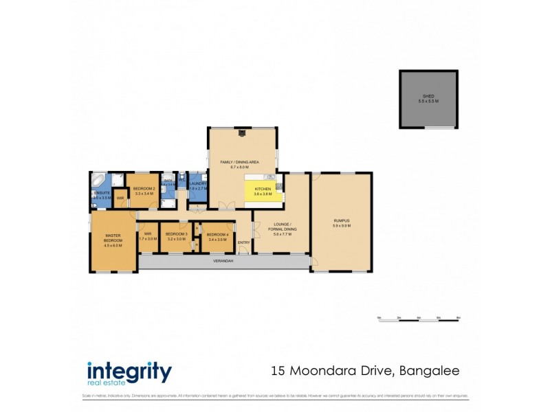 15 Moondara Drive, Bangalee NSW 2541 Floorplan
