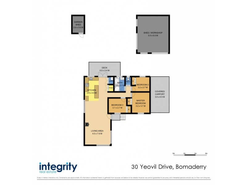 30 Yeovil Drive, Bomaderry NSW 2541 Floorplan
