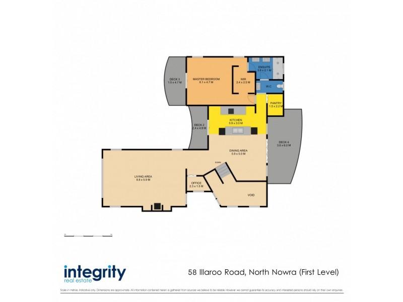 58 Illaroo Road, North Nowra NSW 2541 Floorplan