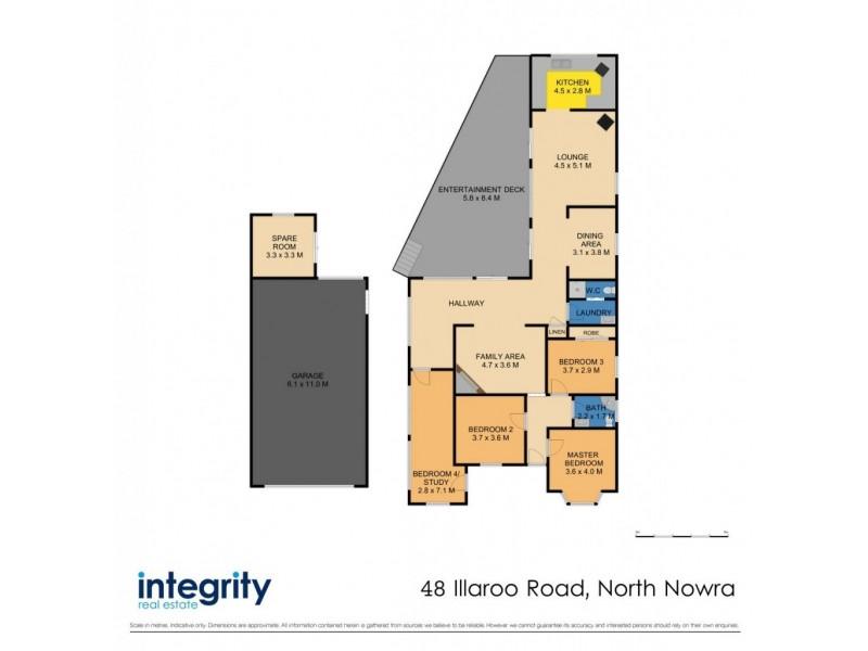 48 Illaroo Road, North Nowra NSW 2541 Floorplan